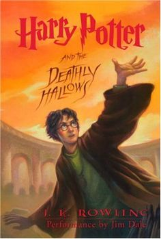 On July 21, 2007 Harry Potter and the Deathly Hallows was published. The seventh and final book in the series, it sold 15 million copies in the first 24 hours of its release! Bookshare members can read (or reread) the entire Harry Potter series in accessible digital formats. The book cover image shows Harry Potter in his black robe against a fiery sky.
