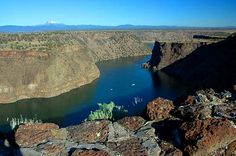 Lake Billy Chinook, Oregon. In Central Oregon between Redmond and Madras.  Camping and boating paradise!