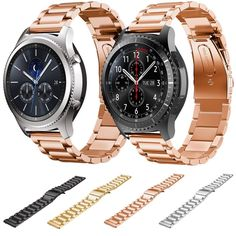 Replacement Stainless Steel Strap For Samsung Gear S3