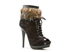 2 Lips Too Too Wine Bootie Women's Dress Boots Women's Boot Shop - DSW