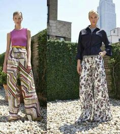 Tendencias/pantalones anchos