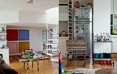 Esqueça a divisão tradicional de ambientes e monte a casa de acordo com suas necessidades pessoais. Carla Ribeiro, por exemplo, abriu mão da sala de jantar e criou uma academia em casa. No espaço onde ficaria a mesa, há um tatame para meditação