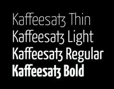 20 Super Clean Fonts Perfect for Minimal Style Design - Web Design Ledger