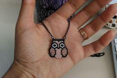Baykuş Kolye Miyuki Baykuş BroşMiyuki Delicia boncuklarıyla yapılmış, baykuş şeklinde şirin ve.... 363078