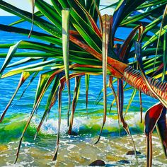 Noosa Artist Susan Schmidt - Pandanus Series  This vibrant series of the beautiful pandanus iconic to Noosa, the artist captures on location from the local beaches.    Visiting Susan's website is a joy with her Pandanus series in Gallery 1 at http://www.susanschmidtart.com  For collectors  who would have loved an original work that is no longer available, the next best thing is a limited edition.  Featured image details: 'Pandanus Splash' limited edition Giclee print on canvas available ...