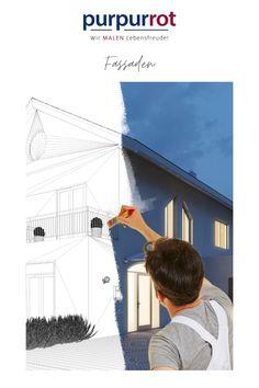 Die Purpurroten Malermeister sind die Spezialisten für hochwertige Fassadenrenovierung und Fassadengestaltung. #fassadengestaltung #fassadenrenovierung #fassade Refurbishment, Red