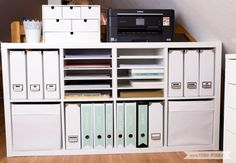 Storage for Scrapbooking Paper and Washi Tape - IKEA H .- Aufbewahrung für Scrapbooking Papier und Washi Tape – IKEA Hack Storage for Scrapbooking Paper Washi Tape Paper Storage Kallax