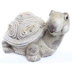 Alpine Corporation Alpine Turtle Rope Statue - WAZ108
