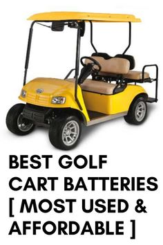 Are you looking for batteries for the cart for your golfing? Are you a pro or a beginner? If you are looking for golfing cart batteries to buy, then let us tell you that we are here to help you to find your ideal battery. We can ensure you to have a better purchase experience through our article. This article is not particular for a pro or a beginner but for the golfers who are willing to buy the best batteries for the golf cart. So, now we will discuss here the best golf cart batteries. Best Golf Cart, Best Battery Charger, Yamaha Golf Carts, Golf Cart Batteries, Golfers, Told You So