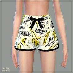 Ribbon Pajamas Shorts at Marigold • Sims 4 Updates