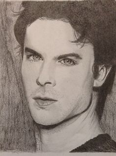 Finished: 09-18-14 Ian Somerhalder Damon Salvatore