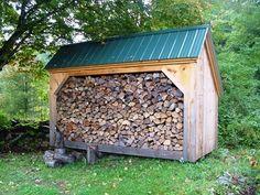 Diy Plans, 6x14 Woodbin Storage Shed, Firewood Storage, Backyard/outdoor/garden