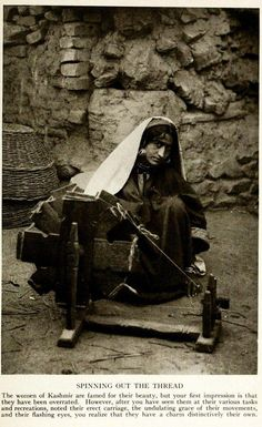 Kashmir around, 1915 Spinning out the Thread