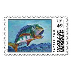 US Stamp - Wide Mouth Bass