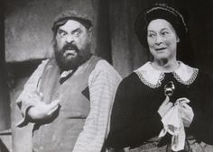 The Original Broadway Cast Of Fiddler On The Roof With Zero Mostel And  Maria Karnilova.