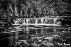 If you like walking your dog or just want a run out to a place that will relax you, Richmond is definitely one of those places. Black And White Photography, Your Dog, Waterfall, Places To Visit, Relax, Walking, Outdoor, Black White Photography, Jogging