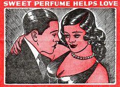 El perfume dulce favorece el amor.