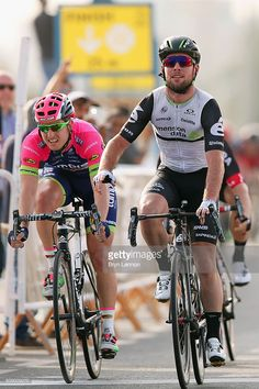 Mark Cavendish of Great Britain and Dimension Data crosses the line to win stage one of the 2016 Tour of Qatar, a 176.5km road stage from Durkhan to Al Khor Corniche on February 8, 2016 in Al Khor Corniche, Qatar.