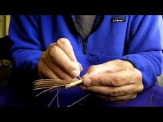 Making A Pine Needle Basket - Watch this artist show you how he makes  pine needle baskets from locally gathered pines.