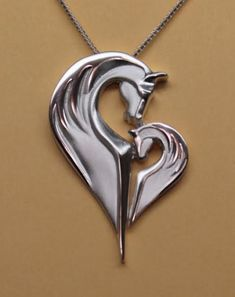 Equestrian Pendants and Necklaces, Horse Pendants and Necklaces   Loriece.com