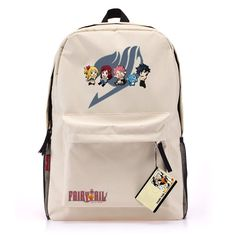 Hot Fairy Tail Large size Canvas Leisure backpack Cosplay School bag WWW10011 in Collectibles, Animation Art & Characters, Japanese, Anime | eBay