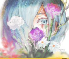 Resultado de imagem para touka kirishima fan art #mangaart