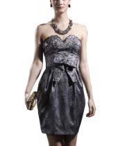Kingmalls Womens Above The Knee Off Shoulder Prom Dress