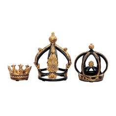 Found it at Joss & Main - 3-Piece Henry Crown Decor Set
