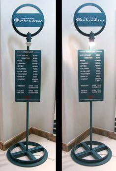 オリジナルバスストップサイン - 株式会社フラフープデザインファクトリー