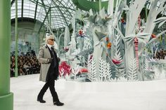 The Atmosphere at Chanel Spring 2015 Couture - Gallery - Style.com