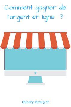 Comment gagner de l'argent en ligne ?  #argent #enligne #business #indépendant #shopping #ecommerce Business Marketing, Shopping, Online Cash, Platform, Earn Money