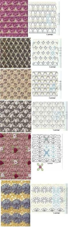 very special crochet stitches! by midnight.butterfly