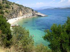 traumhafte Bucht im Nordosten auf Korfu