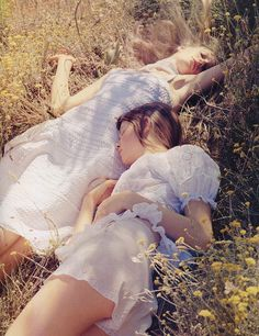 close your eyes, clear your heart, let it go // benjamin alexander huseby for vogue uk march 2006