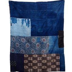 Old Japanese Wonderful Variety Of Fabrics, Katazome, Kasuri, Solids Cotton Boro