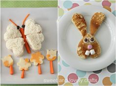 Fun Easter Lunches by Sweet and Lovely Crafts