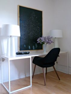 tiny dining room office hack - Google Search