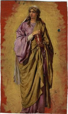 Mary Magdalene, Christian Art, Ikon, Paintings, Christ, Saints, Fairy Cakes, Catholic Art, Paint