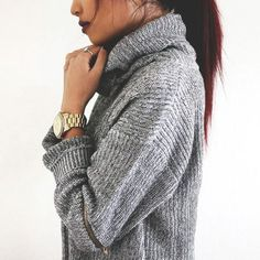cozy chic knit style for the weekend...