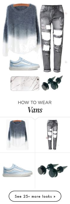 """""""Untitled #2561"""" by lisandra-williams on Polyvore featuring Vans, women's clothing, women's fashion, women, female, woman, misses and juniors"""