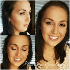Peachie partymakeup. #toofacedpeachpalette