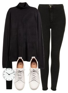 """""""Untitled #5366"""" by laurenmboot ❤ liked on Polyvore featuring Topshop, H&M…"""