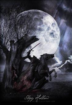 Sleepy Hollow (with Johnny Depp) ~ Fan Art Happy Halloween, Halloween Horror, Halloween Town, Healthy Halloween, Halloween Movies, Halloween Crafts, Sleepy Hollow Movie, Legend Of Sleepy Hollow, Tim Burton