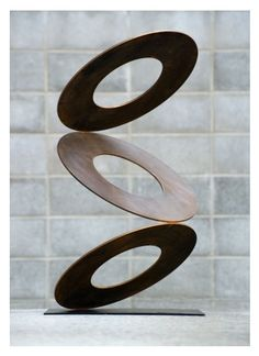 'In the Balance' (corten steel) by Martin Hill.