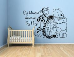 Wall-Decal-Winnie-the-Pooh-Vinyl-Sticker-Home-Decor-Nursery-Bedroom-Art-LM193