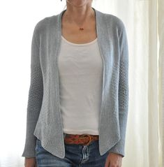 Whippet is a lightweight, jacket style cardigan made for summer! Featherweight and easy to fit into a small handbag, it will warm you in a breeze on a summer Cardigan Pattern, Knit Cardigan, Cotton Cardigan, Christmas Knitting Patterns, How To Purl Knit, Knit Purl, Dress Gloves, Lace Patterns, Whippet