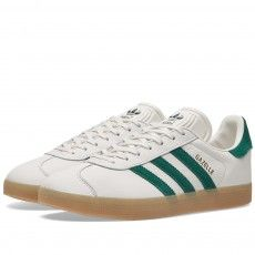 premium selection 0d4af 1483c Adidas Gazelle (Vintage White  Green) Adidas Originals, The Originals,  Menswear,