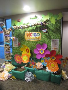 Pick a Petal! Here's our fun way of asking people to help purchase supplies and to donate to Weird Animals