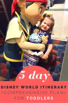 Heading to Disney World with a toddler? This is 5 day Walt Disney World itinerary and comprehensive plan for toddlers will maximize your trip.