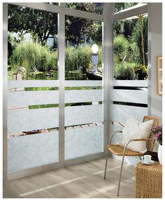 Bring a subtle design to your shower doors and windows by using this affordable DC Fix Rice Paper Window Film. Mirror Window Film, Window Films, Office Interior Design, Office Interiors, Space Furniture, Furniture Design, Dc Fix, Window Privacy, Privacy Glass